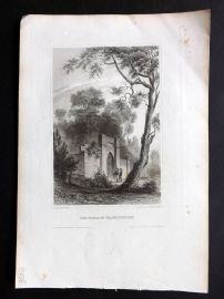 Meyer's Universum C1850 Antique Print. Tomb of Washington